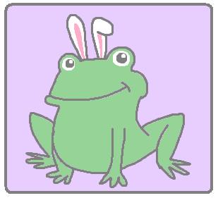 bunny ears frogs
