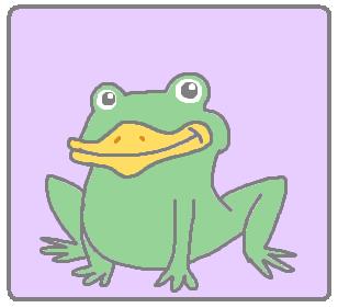 duck beak frogs