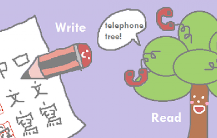 Learning to read and write Chinese
